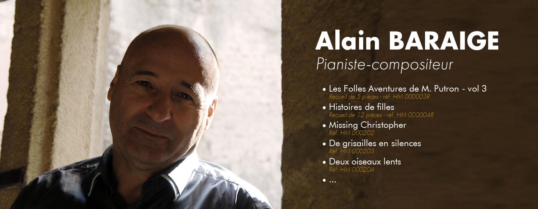 Ain Baraige - pianiste / compositeur